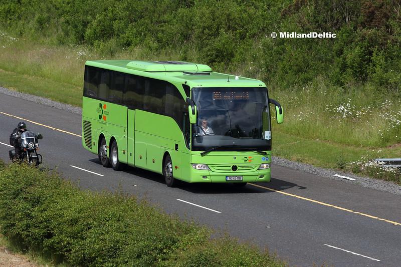 Dublin Coach 142-KE-1188, M7 Portlaoise, 04-06-2018