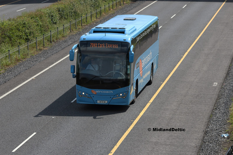 First Aircoach 141-D-30, M7 Portlaoise, 04-06-2018