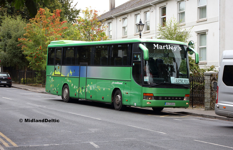 Martley's 00-D-120324, Railway St Portlaoise, 01-09-2018