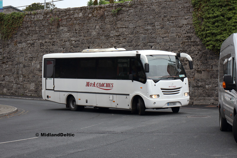 M&A Coaches 07-C-5506, Portlaoise Station, 01-09-2018