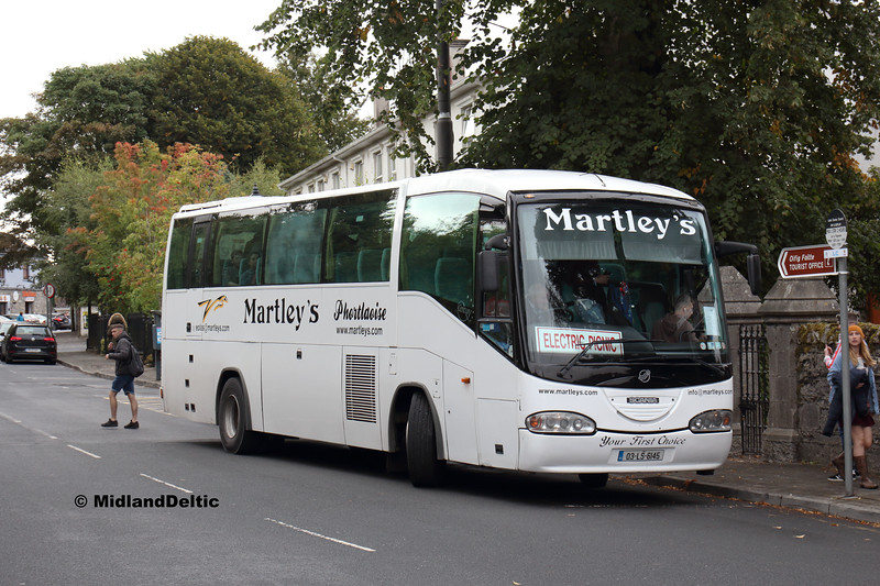 Martley's 03-LS-6145, Railway St Portlaoise, 01-09-2018