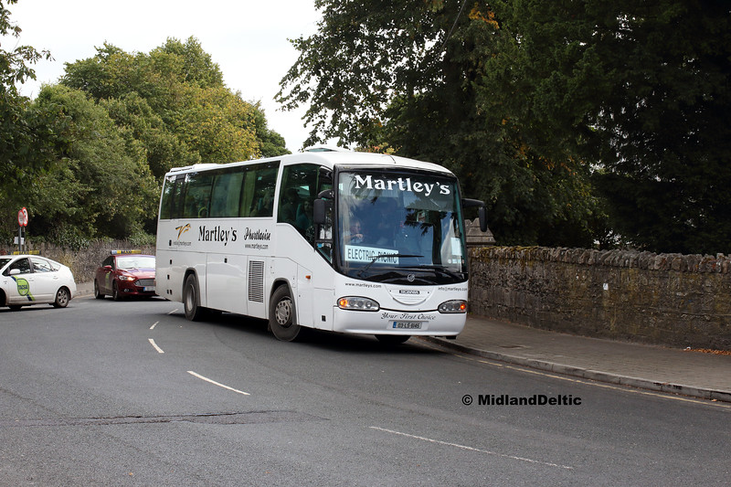 Martley's 03-LS-6145, Railway St Portlaoise, 03-09-2018
