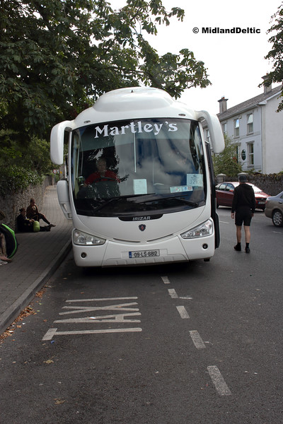 Martley's 09-LS-6812, Railway St Portlaoise, 03-09-2018
