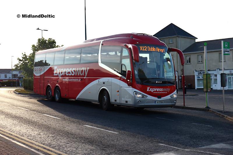 Bus Éireann SE52, James Fintan Lawlor Ave Portlaoise, 05-06-2018