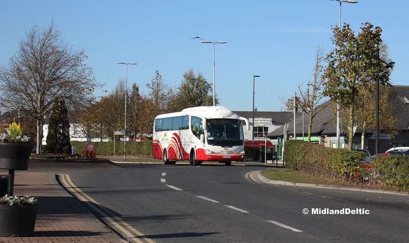 Bus Éireann SP37, James Fintan Lawlor Ave Portlaoise, 18-10-2018