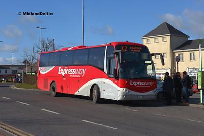 Bus Éireann LC17, James Fintan Lawlor Ave Portlaoise, 20-02-2018