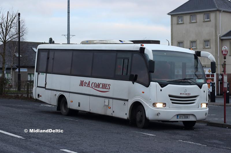 M&A Coaches 07-C-5506, James Fintan Lawlor Ave Portlaoise, 31-12-2018