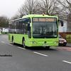 Dublin Coach 07-KE-2610, Edward St Newbridge, 17-02-2017