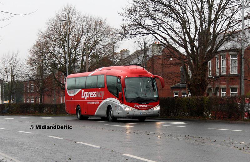 Bus Éireann SP118, James Fintan Lawlor Ave Portlaoise, 06-12-2016