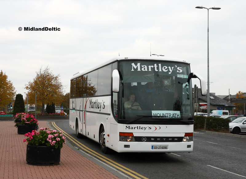Martley's 03-LS-6096, James Fintan Lawlor Ave Portlaoise, 25-10-2016