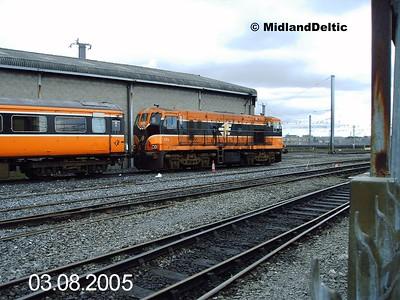 176, Connolly Sidings, 03-08-2005