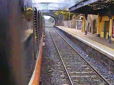 073, Departing Newbridge, 17-10-2008