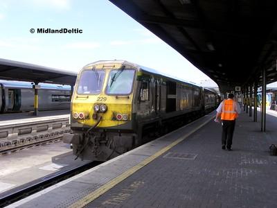 229, Dublin Heuston, 15-06-2009