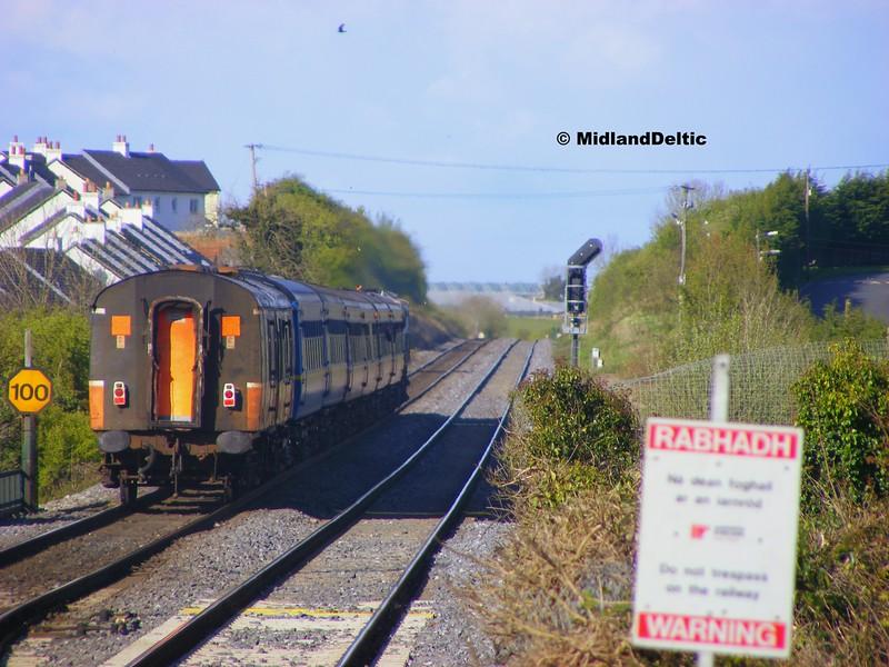 171 for 171 Railtour, Portlaoise, 21-04-2012