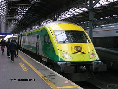 4005, Dublin Heuston, 26-10-2015
