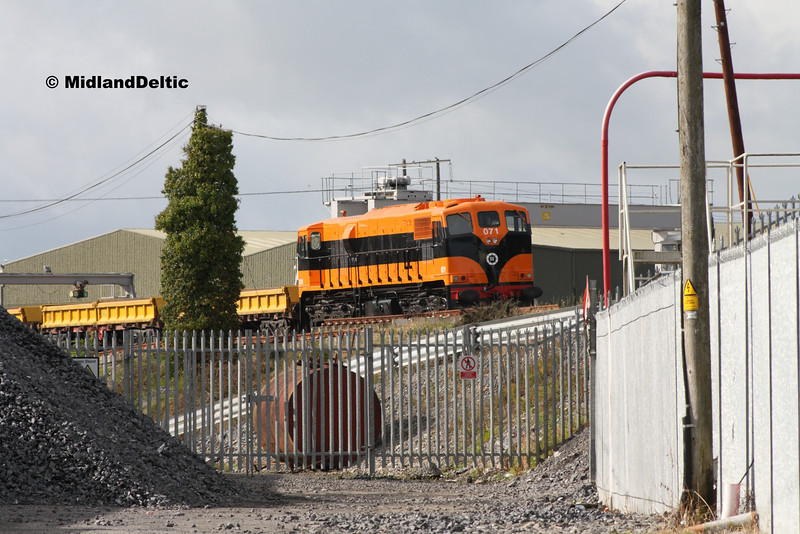 071, Portlaoise PW Yard, 30-09-2016