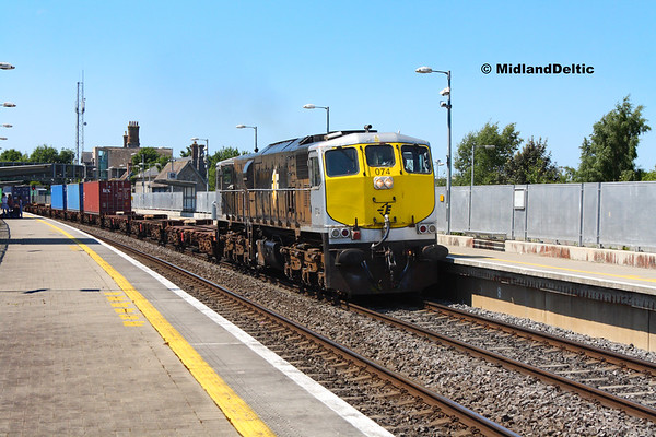 Portlaoise / Portarlington (Rail), 17-07-2017
