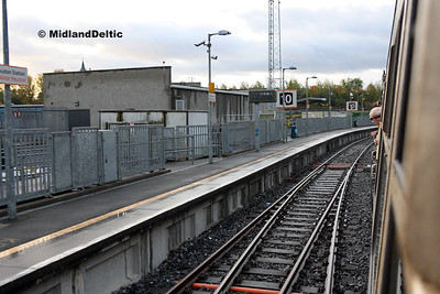 Dublin Heuston Platform 10, 14-10-2017
