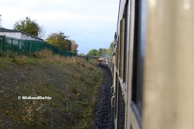 073+071, Departing Portarlington, 14-10-2017
