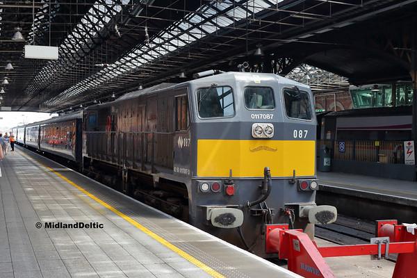 087, Dublin Connolly, 14-07-2018