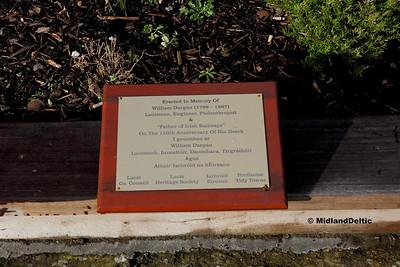Memorial Plaque, Portlaoise Station, 18-01-2018