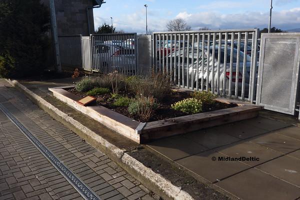 William Dargan Memorial Garden, Portlaoise,18-01-2018