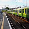 DART-2016_07240116<br /> <br /> To kill a little time, and allow the crowds to disperse, we took a ride down to Greystones on this 6 car LHB DART.  It is seen after arrival before returning empty to Bray.  As a bonus, it started from bay platform 3 at Bray - a new opiecve of track for me!