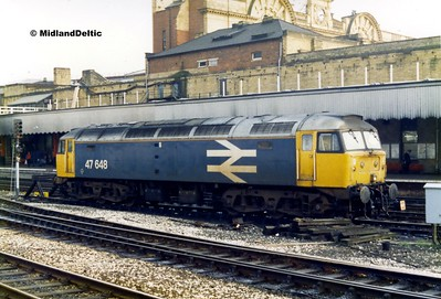 47648, Manchester Victoria, 25-11-1987