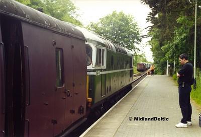 North Norfolk Railway, 10-06-2000