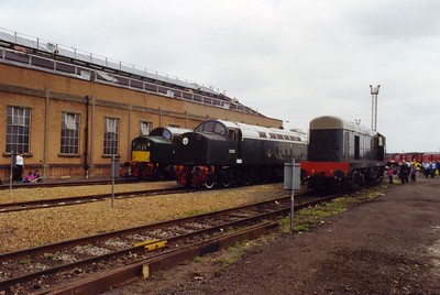 Old Oak Common Open Day, 05-08-2000