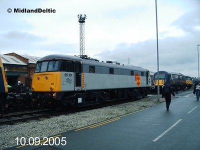 85101, Bombardier Crewe, 10-09-2005