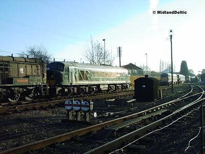 D123, Loughborough Central, 11-12-2005