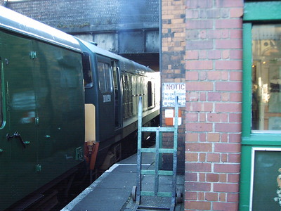 D8098, Loughborough Central,