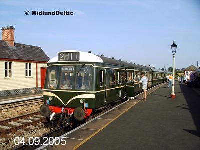 51591+59608+51625, Swanwick Junction, 04-09-2005