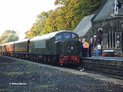 Peak Rail Diesel Gala, 23-09-2006