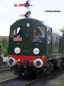 D8098, Loughborough Central, 21-09-2013