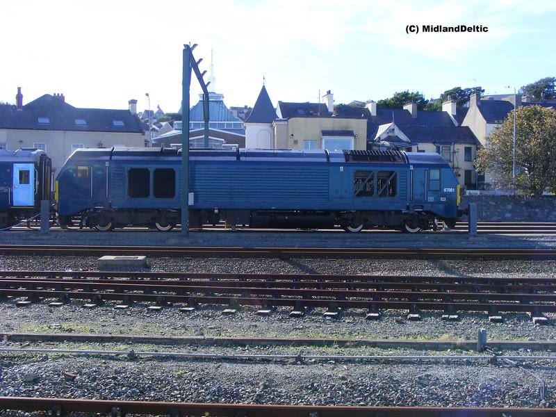 67001, Holyhead, 22-9-2013