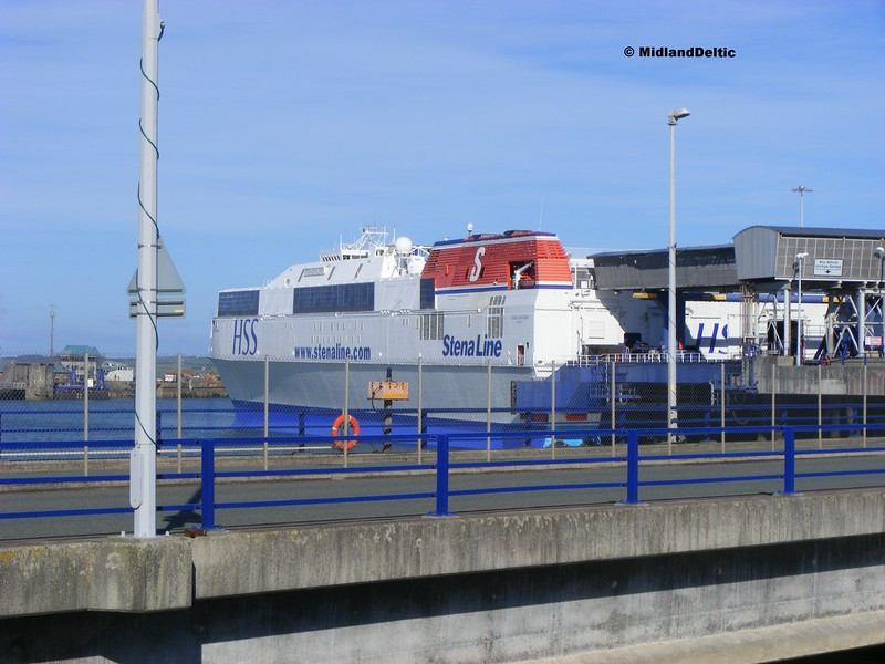 Stena Explorer, Holyhead, 22-9-2013