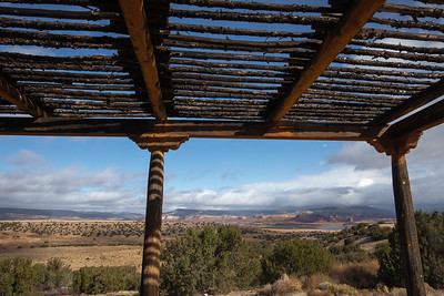 Back Porch in Abiquiu