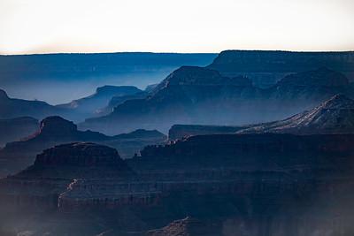 Blue Canyon , South Rim