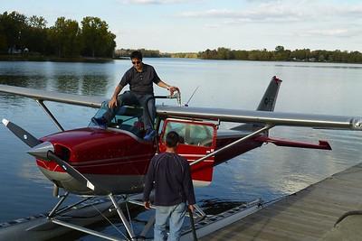 2012 - Hydroplane ride with Louis Cyr