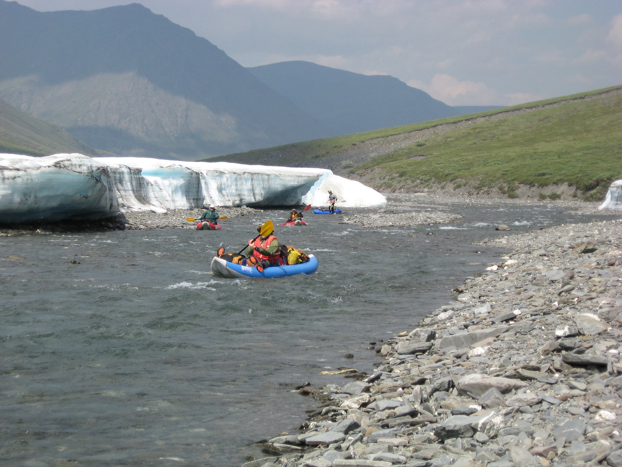Day 2, River - More Boat Dragging