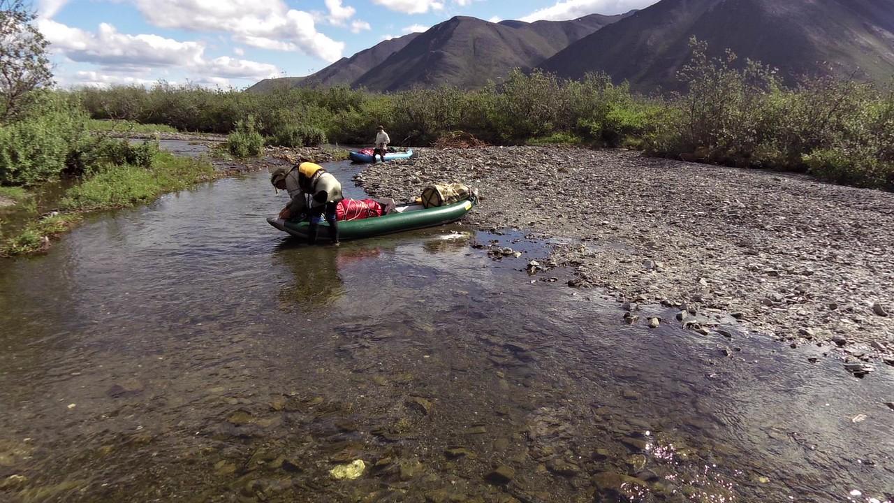 Day 1, River - Boat Dragging