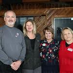 Bruce Richmond, Christy Ray, Susan West and Debbie Laribee.