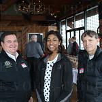 Clay Campbell, Deandra Jackson and Larry  Ledford.