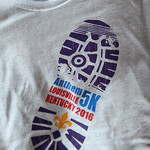 The newly designed race t\'shirt for the Anthem 5K.