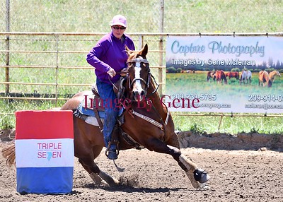 Triple Seven Barrel Race June 8th. 2019 Clements, CA