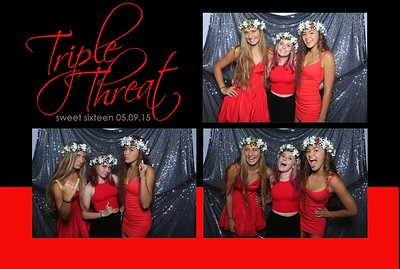 Triple Threat Sweet 16 (Fusion Photo Booth)