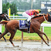 Ruler On Ice winning the Belmont Stakes 2011<br /> Photo by: Rick Samuels