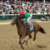 Animal Kingdom w/John Velazquez up win the 137th Running of the Kentucky Derby at Churchill Downs on May 7, 2011.<br /> Photo by: Chad Harmon
